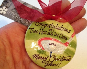 Hole in One - Golf Ornament