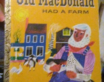 Sale-1977 Little Golden Old Macdonald Had a Farm Book
