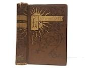 Hollow Book Safe Lady of the Lake Cloth Bound vintage Secret Compartment Keepsake Box