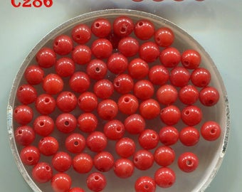 Mediterranean Natural Coral Beads,  Rich Color,  Mini Beads 5159.5192.5224.5278.C286