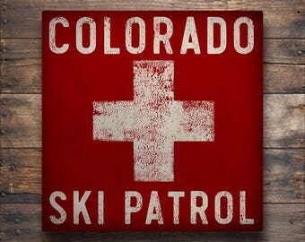 CUSTOM ANY TEXT Experts Only Ski Patrol Double Black Diamond Snowboard Graphic Art Stretched Canvas Ready-To-Hang