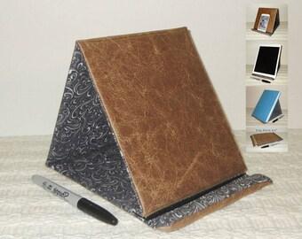 Fold Up Phone Stand For you Desk / Book Bag, Handbag or Lap #FoldUpPhoneStand