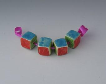Square bead