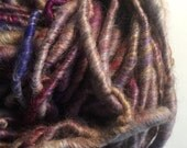 Super bulky handspun yarn in beautiful multicolors