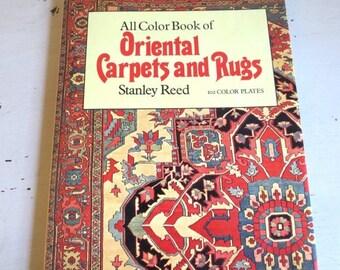 SALE Vintage Oriental Carpets and Rugs Book 1972