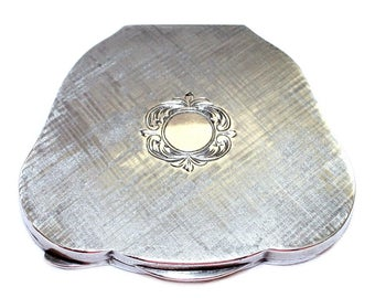 Vintage c.1940's Italian 800 Silver Compact