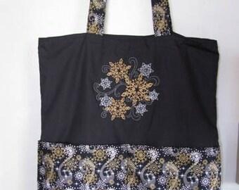 Beautiful Snowflake Version B Tote Bag Shopping Bag Diaper Bag