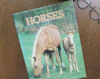 The Book of Horses by Jane Kidd – Illustrated Hardcover Vintage Book