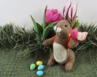 Bunny Rabbit, Easter Bunny, toy rabbit, waldorf rabbit