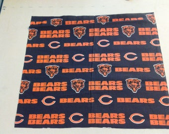 cotton fabric of the Chicago Bears 247675