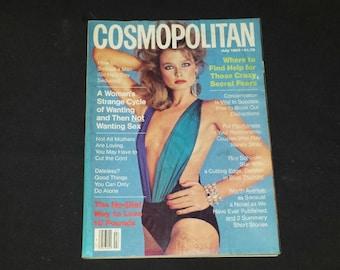 Cosmopolitan Magazine July 1983 / 1983 Cosmo / Roy Scheider / Martha Rose Shulman / Virginia Slims / Print Cigarette Ads