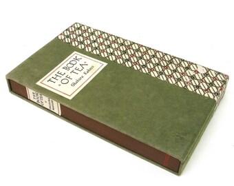 the book of tea   ...   okakura kakuzo  ...  japanese book in the original slipcase