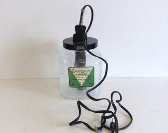 Christmas Sale Vintage Vaporizer Super Lectric gallon Jar