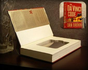 Hollow Book Safe & Flask (The Da Vinci Code)