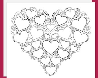 sympathy coloring pages - photo#36