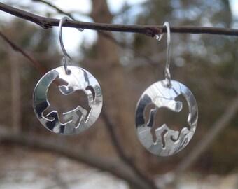 Dancing Horse earrings