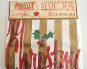 Vintage Holt Howard Rural Mail Box Cover In Original Package