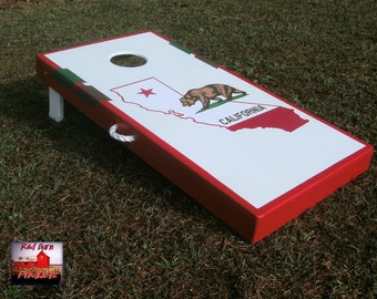 ACA American Handmade Deluxe Custom Themed State Cornhole Board Set