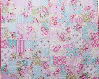 Sunsine Roses Quilt Pattern