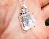 Reserved for Diana Quartz Pendant