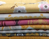 Daisy Cottage OOP HTF fat eight mini bundle by Lori Holt for Riley Blake - quilt cotton fabric