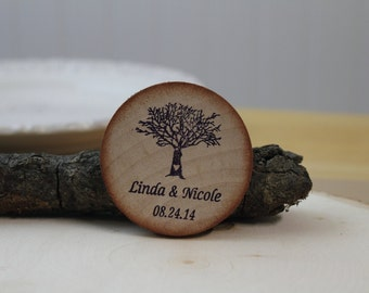 Save the date  Magnets wooden wedding magnets Save The Date, Wood Save The Date Magnet, Personalized Save The Date Magnet