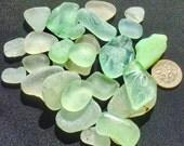 Sea Glass or Beach Glass of Hawaii beaches Seafoam! COCA-COLA! WRITING! Bulk Sea Glass! Sea Glass Bulk! Mosaic Tiles! Sea Glass for Jewelry!