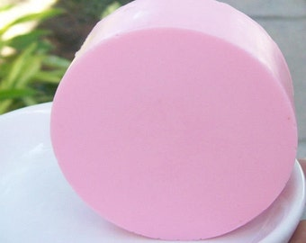 Cherry Lemonade soap-pink glycerine soap-gift for her-fruity soap-detergent free-paraben free-cruelty free bath bar