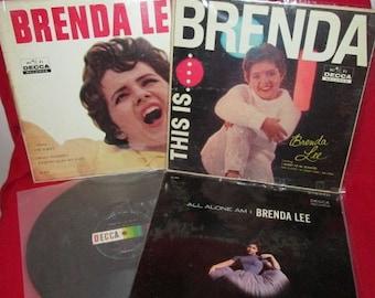 Brenda Lee Vintage Albums Group of Four