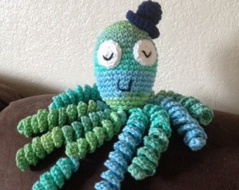 Crochet Octopus for Preemie Babies, Crochet Octopus Preemie Baby Comfort Toy, Therapeutic Octopus, Newborn Octopus