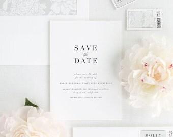 Serif Romance Save the Date - Deposit