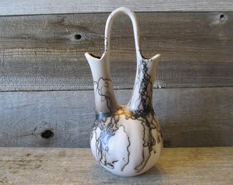 Eden Wedding Vase, Horse Hair Pottery  - Made in Wyoming