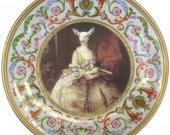 """Capra Aegagrus Hircus Portrait Plate 8.4"""""""