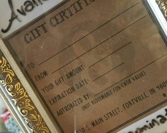 Gift Certificate for Shop