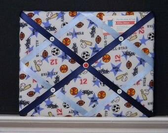 11 x 14 Multi Sports Theme Memory Board