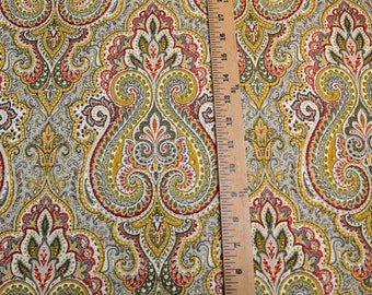Swavelle Paisley Fabric Naehring Woodland
