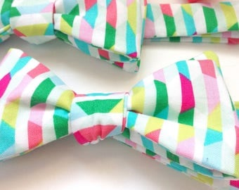 Bow ties for boys, kids bow ties, pink bow ties, boys bow ties, wedding ties, easter ties, pastel ties, toddler bow ties