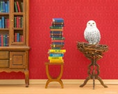 Snowy owl, Harry Potter inspired Hedwig art print: Spellbound