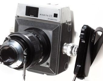 Mamiya 23 Standard medium format rangefinder camera with 150mm lens