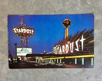 Vintage Stardust Hotel Post Card - Unused
