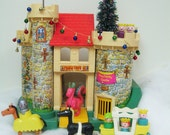 SALE! Vintage Fisher Price Castle - Complete Set