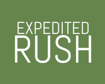 Expedited Rush Processing (2-3 business days)