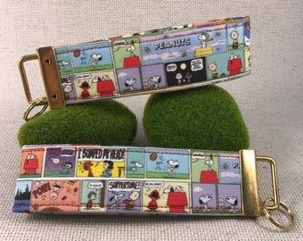 Peanuts and Friends Comicstrip Snoopy Key Fobs Ready to Ship Limited Edition Sale