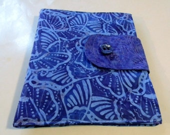 Lavender and Purple Batik iPad Cover