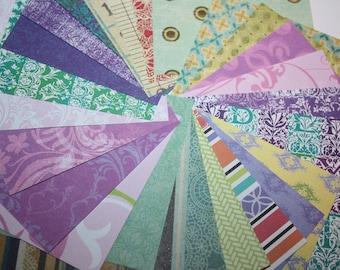 DESTASH - Assorted Paper Squares - 3x3