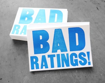 Bad Ratings, The Ides of Trump, Set of 10 Protest Postcards