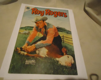 Vintage 1953 Roy Rogers No 10 Mexican Comic Book,  collectable