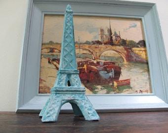 Aqua Eiffel Tower, Small Cast Iron Eiffel Tower
