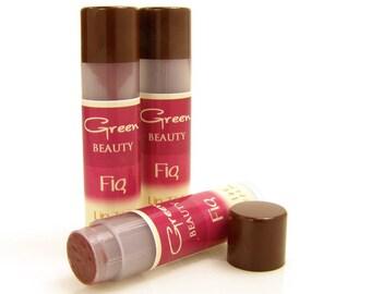 Tinted lip balm, Fig, Natural Lip Balm, Lip Color, Sheer Lip Tint, Lip Tint, Lip Balm, Colored Lip Balm, Shea Lip Balm, Beeswax Lip Balm