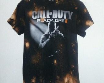 Call Of Duty Black Ops II TShirt / Black Ops 2 / Gamer TShirt / Graphic Tee / Distressed / Indie / Grunge / RockNRoll / Unisex / Women / Men